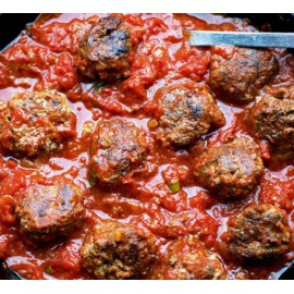 Pasta Sauce with Fully Cooked All Beef Meatballs